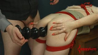 Ass to mouth hardcore anal pain and destruction for skinny masochist