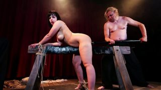 BADTIME STORIES – Wild BDSM session with submissive chubby German slave Pina Deluxe
