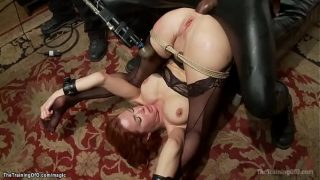 Busty Mature trainee interracial anal