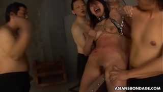 Kana Sato was screaming so loud during a BDSM session