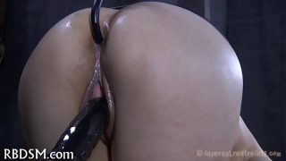 Sexy toy for hawt girl double pleasure bdsm