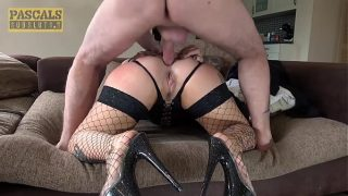 Tattooed Pixie Peach Double Penetrated
